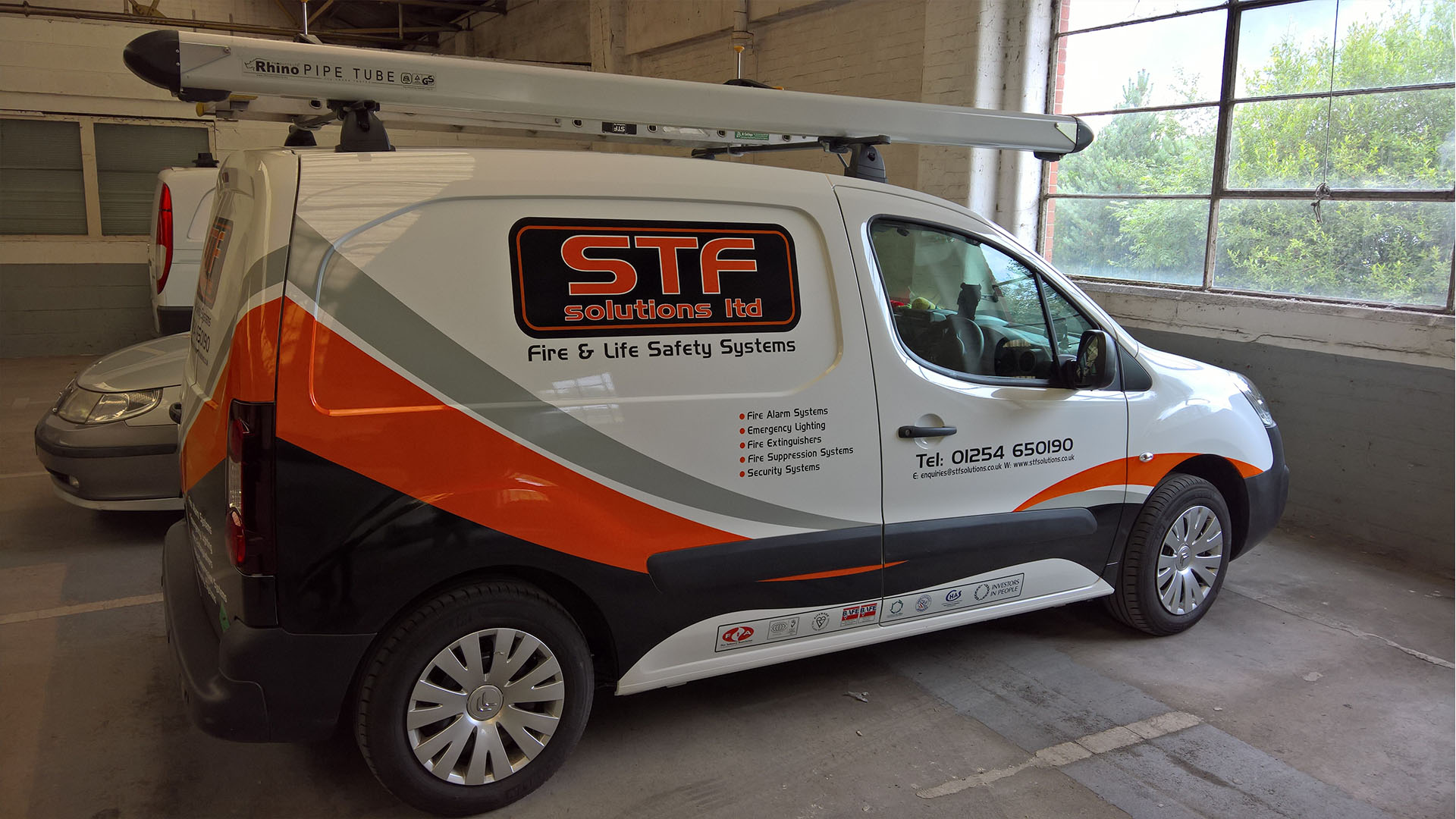 STF Solutions Ltd Van